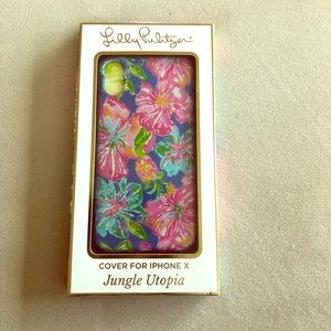 Lilly Pulitzer Jungle Utopia Cover for iPhone X